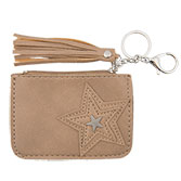 Sleutelbeursje Star stitching