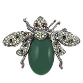 Broche bluebottle