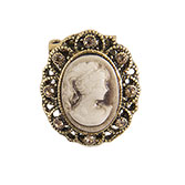 Broche medallion