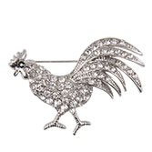 Broche rooster