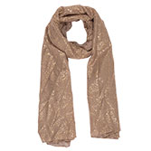 Sjaal Gold shimmer