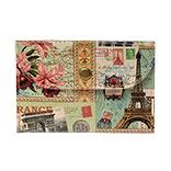 Portemonnee Paris 11*8 cm