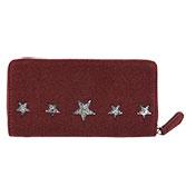 Portemonnee Glitter stars