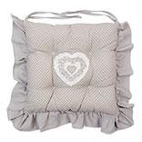 Chair cushion filled