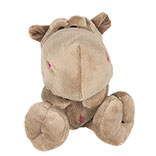 Decoratie knuffel nijlpaard