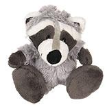 Decoratie knuffel wasbeer