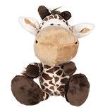 Decoratie knuffel giraf