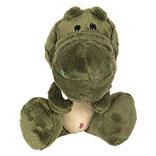 Decoratie knuffel krokodil