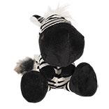 Decoratie knuffel zebra