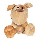 Decoratie knuffel hond