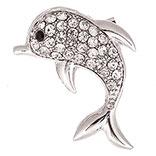 Broche dolfijn