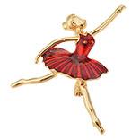 Broche ballerina
