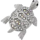 Broche schildpad