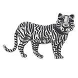 Broche tijger