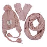 Kinder sjaal / muts / handschoenen