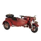 Model motor met zijspan