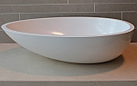 Solid surface / Mineral stone wastafels