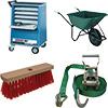 Overig gereedschap, hulpmiddelen, materieel