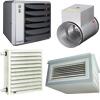 Luchtverwarming/-koeling