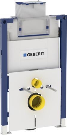 Toiletsets met Geberit Duofix Inbouwreservoir Omega 82cm