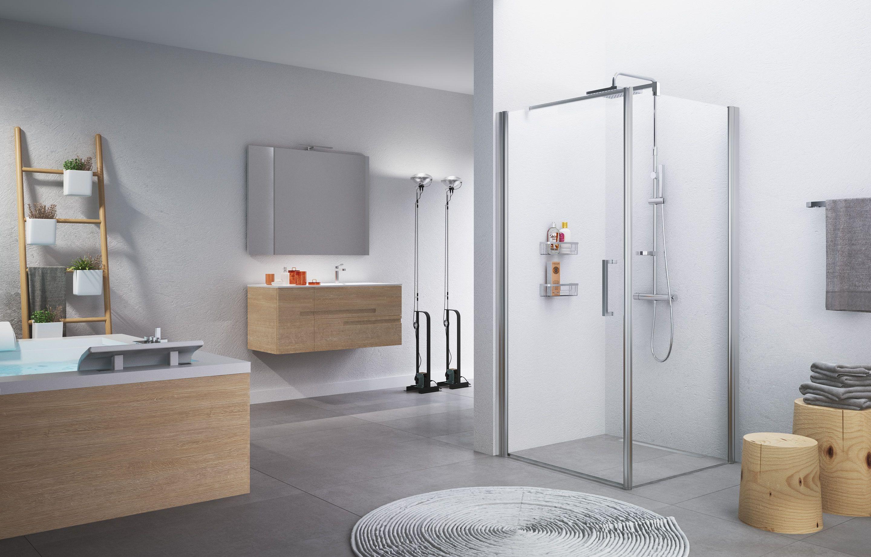 Zijwand voor bad en douche
