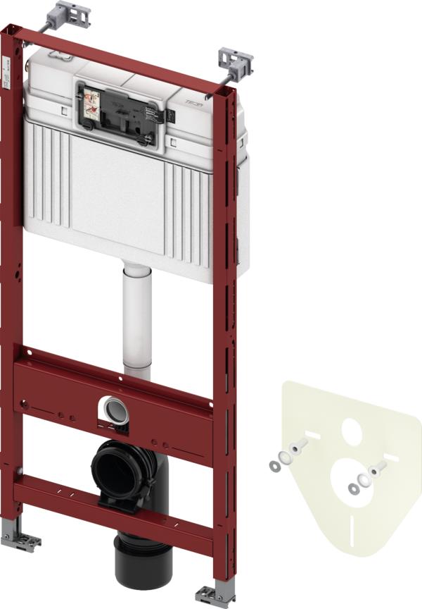 TECE inbouwreservoir standaard met bedieningspaneel