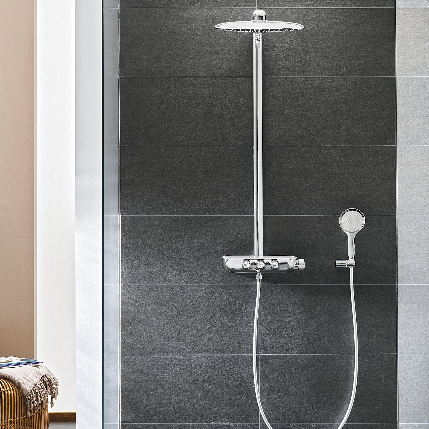 grohe rainshower smartcontrol. Black Bedroom Furniture Sets. Home Design Ideas
