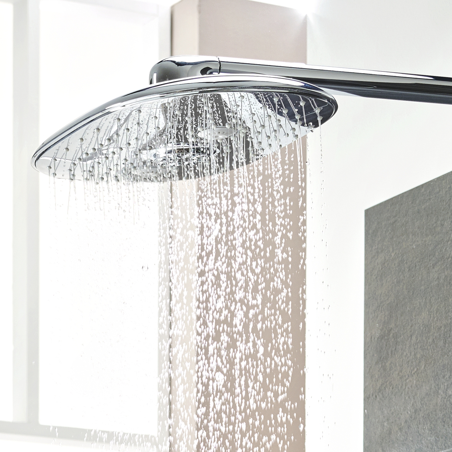 grohe rainshower smartcontrol douchesysteem 360 duo chroom 26250000. Black Bedroom Furniture Sets. Home Design Ideas