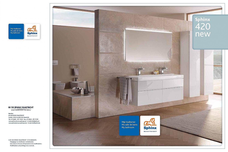 Sanispecials.nl | Sphinx 420 New spiegel met LED verlichting ...
