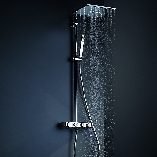 grohe euphoria smartcontrol 310 cube duo douchesysteem. Black Bedroom Furniture Sets. Home Design Ideas