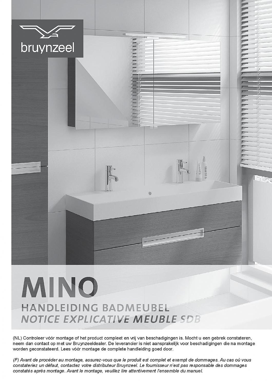 bruynzeel badkamer fabulous bruynzeel spiegelkast cm met