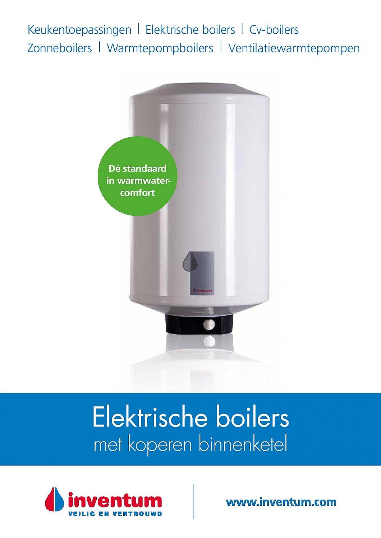 Inventum EDR 80 elektro boiler 80 liter 1000W 43188010 > Boiler ...