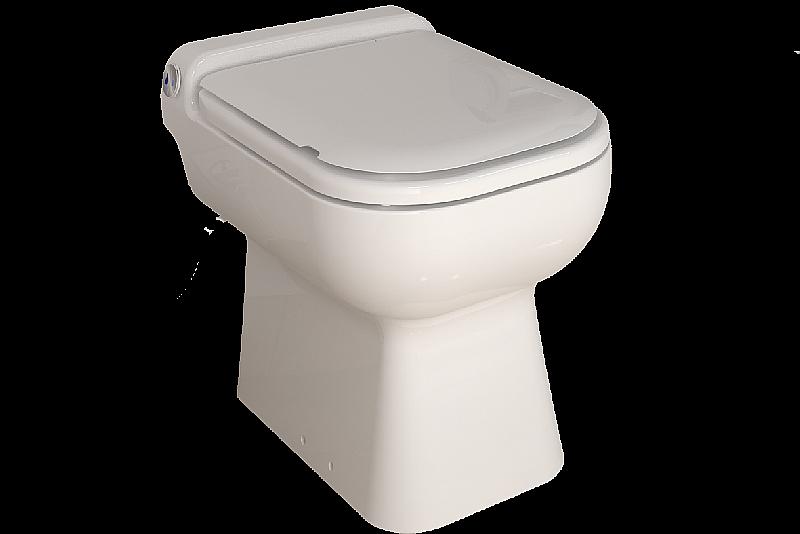 Sanibroyeur Toilet Aansluiten : Sfa sanibroyeur sanicompact luxe eco staand closet incl zitting