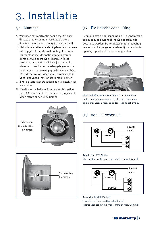 Ventilator Hygrostaat. Finest Opmerking With Ventilator Hygrostaat ...