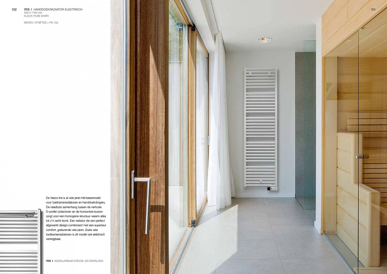 Badkamer Verwarming Vasco : Vasco iris hdm designradiator horizontaal incl droogrek