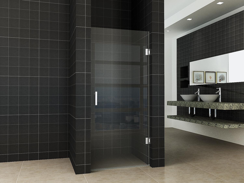 Badkamer Zonder Toilet : Frank co douchedeur zonder profiel cm mm nano glas