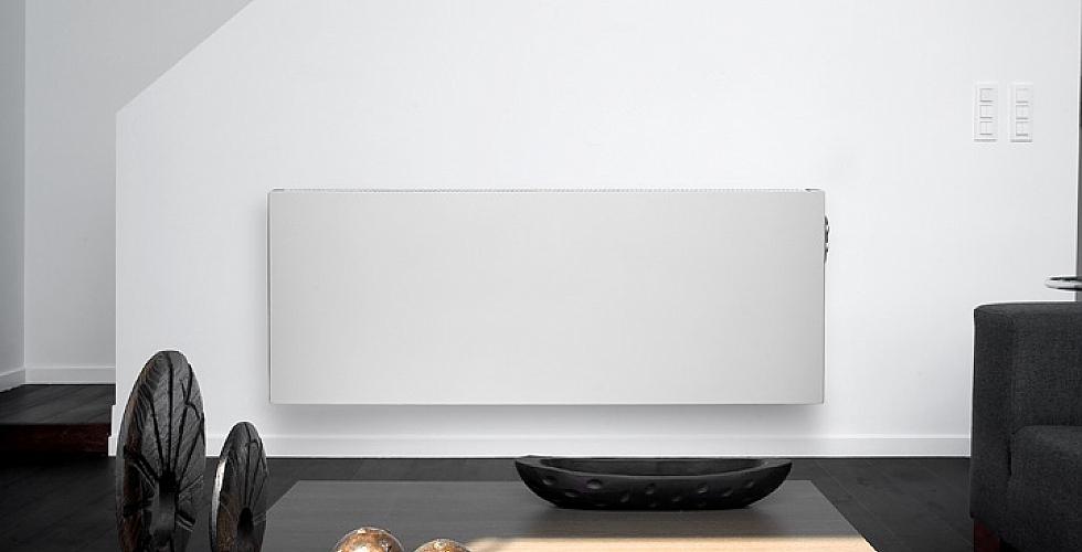 Vasco E-panel radiator elektrisch horizontaal 800x600mm 1000W wit ...