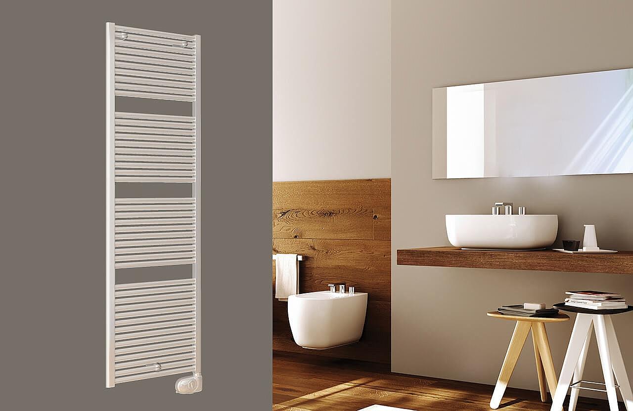 Badkamer Radiator Elektrisch : Drl claudia elektrische radiator e comfort mm wit w