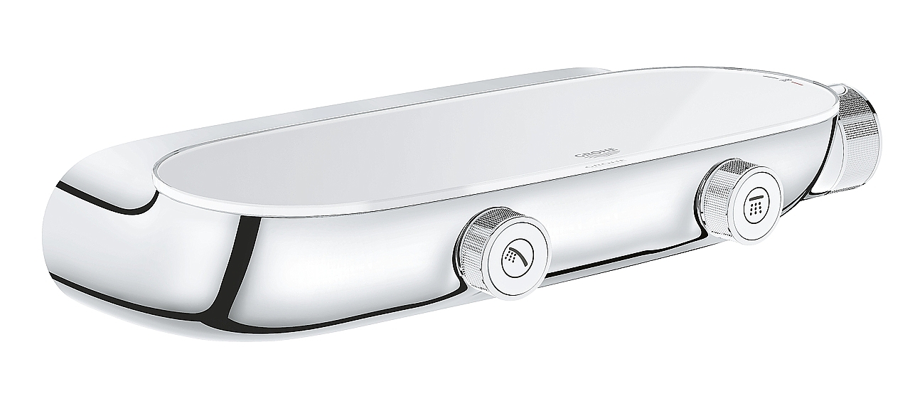 Grohe Grohtherm SmartControl Rainshower SmartControl thermostaat ...
