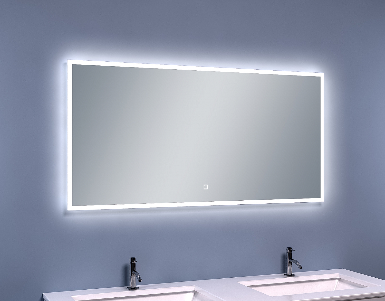 Led Spiegel Badkamer : Evolution smile led spiegel cm condensvrij u e spiegel