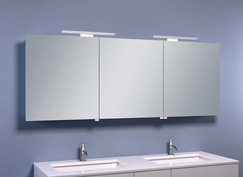 Frank co spiegelkast met led verlichting cm u e spiegelkasten