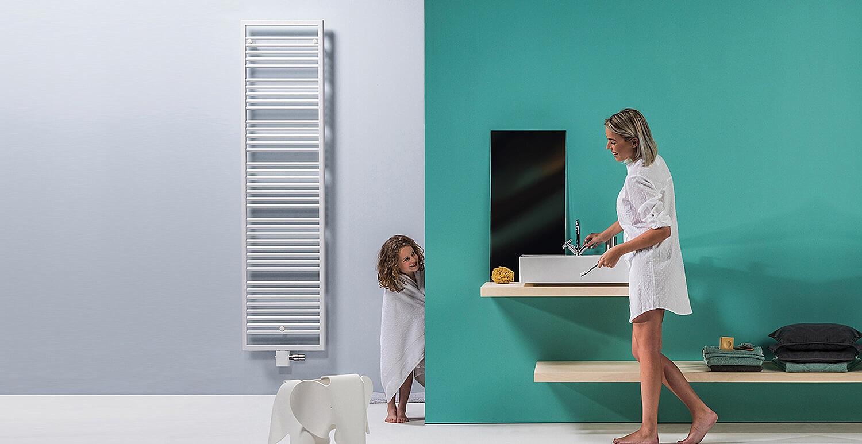 Vasco Bathline BB-EL designradiator elektrisch horizontaal 878x500mm ...