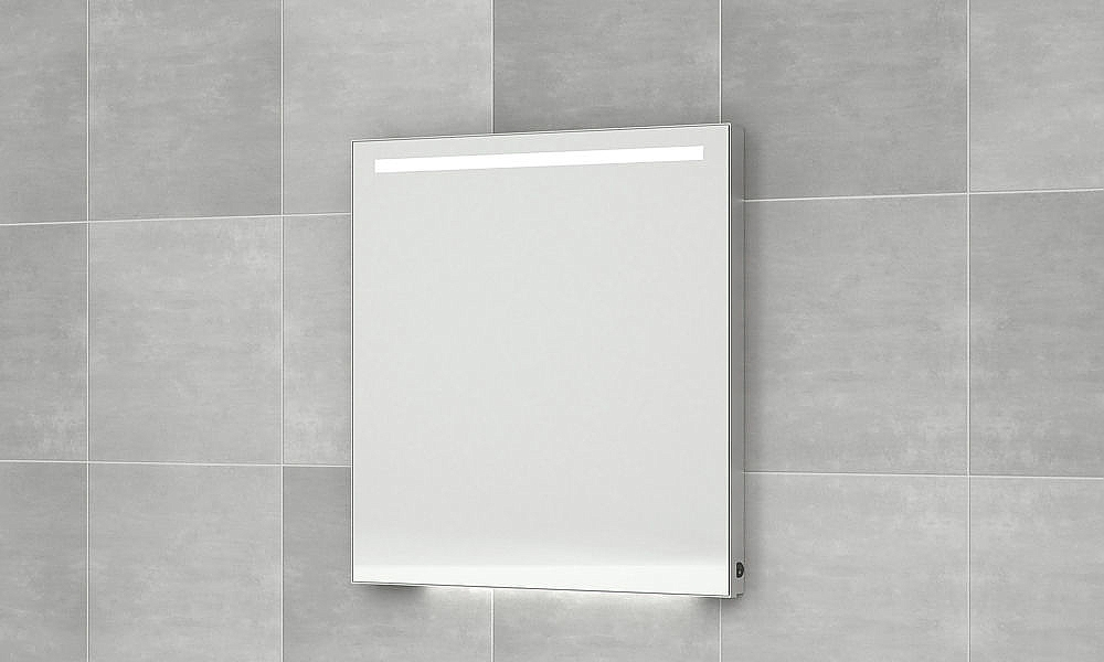 Bruynzeel spiegel cm led verlicht m alu kader m