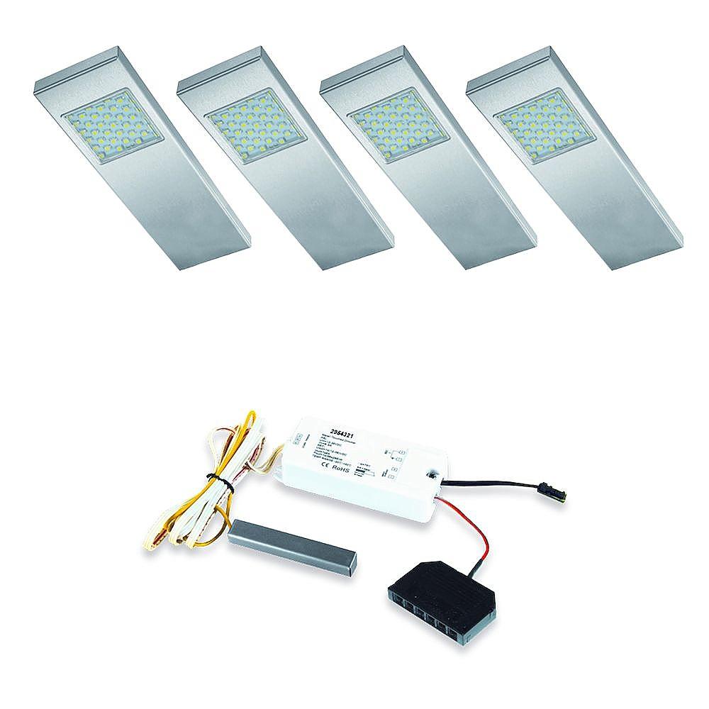 Dotty LED set + Touch-dimmer - 12V. set van 4 LVSET4DOTD > Onderbouw ...