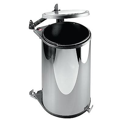 Hailo Big-Box 20 liter afvalemmer AE372000 wit/donkerbruin > Voor ...