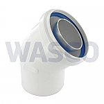 Bosch bocht dubbelwandig concentrisch 45° 60/90mm 7709999120