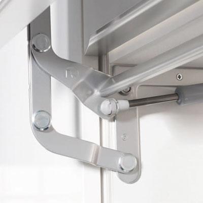 Kesseböhmer Deur-liftsystemen HSB Maximaal 1170mm breedte zilvergrijs