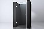 Evolution Glass douchedeur zonder profiel 70x200cm 8mm NANO chroom/helder glas