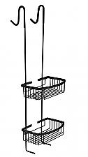 Evolution Nero Rome Ophangrek (doucheregaal) RVS-Mat-Zwart