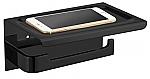 Evolution Nero Phone closetrolhouder 18x12cm zwart